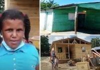Muy avanzada construcción de vivienda que niña le pidió a Abinader en Barahona; Vídeo