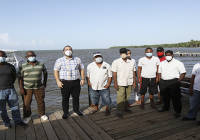 Director de Codopesca recorre Sabana de la Mar en apoyo a pescadores de esa región