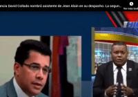 David Collado: Nombró a la asistente de Jean Alain en su despacho y cuestionan carta envío a universidades; Vídeo