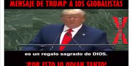 Trump: «Cada niño, nacido y no nacido, es un regalo Sagrado de Dios»; Reitera «no al socialismo»; Vídeo