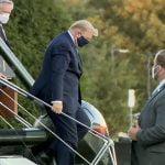 Coronavirus (Covid-19): Donald Trump fue trasladado al hospital Walter Reed en helicóptero donde continuará tratamiento