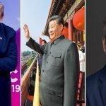 Representantes en la RD de Xi Jinping, alias Coronavirus, el dictador asesino de China están guapitos