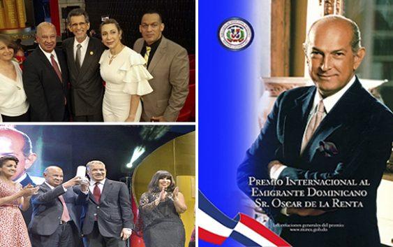 Premio Oscar de la Renta: Ni Danilo Medina, ni Miguel Vargas, ni mucho menos Angelita