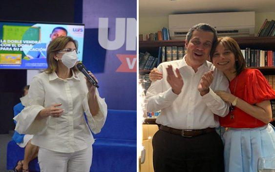Patricia Villegas esposa de Orlando embajadora en Brasil y Katherine Peña hermana de Raquel cónsul en España