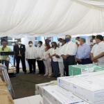 Abinader dispone 500 MM para construcción hospital regional en SFM; Visita la UASD