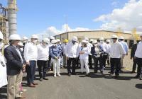 Presidente Abinader asiste a encendido de plantas de Cespm convertidas a gas natural en SPM