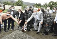 Egehid inicia construcción de destacamento policial en el municipio de Cambita