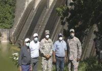 Egehid y la Armada Dominicana buscan solución a problema sedimentación Presa de Valdesia