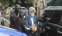 Apresan y trasladan al Palacio de Justicia Ciudad Nueva al expresidente del Fonper Fernando Rosa
