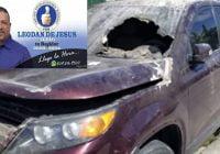 Presidente Concejo de Regidores de Nagua ha recibido amenazas de muerte; Le incendian vehículo