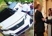 Exdirector de Coraasan Silvio Durán, esposa e hijos resultan ilesos de accidente de tránsito
