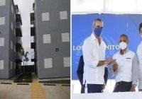 Gobierno entrega 72 apartamentos a familias cañada Los Platanitos en Santo Domingo Norte