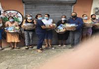 Fundación Villa María-Mejoramiento Social entrega canastas navideñas