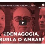 Somos Pueblo presenta «El regalo de Navidad de José Ignacio Paliza e Ito Bisonó»; Vídeo