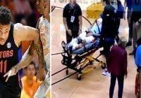 En estado crítico basquetbolista Keyontae Johnson se desmayó en cancha; Aún desconocen causas; Vídeo