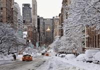 Intensa nevada hoy en los Estados Unidos incluyendo Nueva Inglaterra, Nueva York y Nueva Jersey
