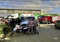 Sistema 911 informa accidentes en carretera La Romana – SPM y en la Avenida Independencia del DN