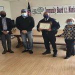 Junta Comunitaria #12 reconoció dominicano Charlie A. Bello comandante precinto 33 en Washington Heights