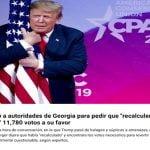 Trump, intentó con Roberto y con Castaños Guzmán (Décima)