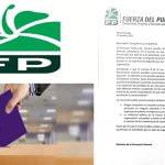 Fuerza del Pueblo advierte a miembros Ley 33-18 les prohibe participar en elecciónes del PLD