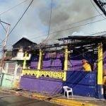 PLD recibe como regalo de Año Nuevo en Santiago el incendio de un local