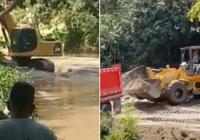 Llama atención Ministro de Medio Ambiente Orlando Jorge sobre depredación del Río Inoa