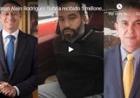 «Corrupción al Desnudo» exige Jean Alain Rodríguez aclare si recibió 5 MM dólares y un Ferrari del capo; Vídeo