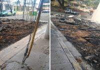 Obras Públicas volviendo a viejas prácticas de romper calles buenas; Vídeo