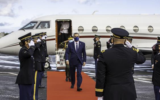 Abinader viajará hoy a Madrid y Andorra a XXVII Cumbre Iberoamericana; Aquí agenda del presidente