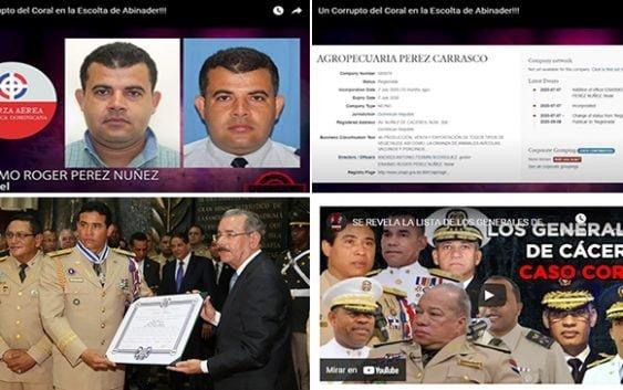 Corrupción al Desnudo revela horrores del millonario coronel Pérez Núñez quien trabaja para Abinader; Vídeo