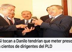 Pues Danilo y sus ladrones, quisieron robarse el mundo (Décima)