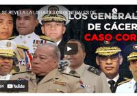 Somos Pueblo reseña andanzas de algunos de los generales involucrados en «Operación Coral»; Vídeo