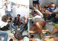 Con carritos de emergencia rescatan 32 personas varadas en teleférico Puerto Plata; Vídeos