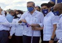 Presidente Abinader e Inapa ponen en funciomiento sistema de agua potable en Hato Mayor