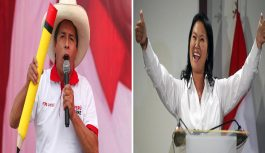 Elecciones Perú: ONPE informa con 98.3 % computado, Pedro Castillo 50.3 Keiko Fujimori 49.6