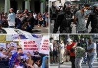 Protestas hoy en Cuba: Denuncián más de 100 desaparecidos, muertos y tumban comunicación; Vídeos