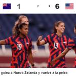Canadá, Estados Unidos, Gran Bretaña y Suecia ganan en Torneo Olímpico Femenino de Fútbol