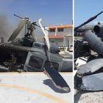 Helicóptero FAD llevaba soldados a la frontera estalla en Jimaní al momento del aterrizaje; Vídeos