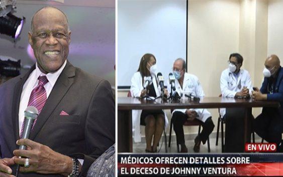 Muerte de Johnny Ventura: Directora de la Clínica Unión Médica del Norte informa llegó sin vida