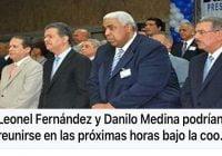 Danilo, se tiró alante, y anda detrás de Leonel (Décima)