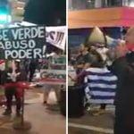 Protesta contra vacuna: Uruguay grita «Asesinos, terroristas, los niños no se tocan»; Vídeo