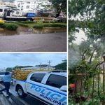 Alcaldía DN tomó medidas preventivas por el paso de la Tormenta Tropical Fred; Vídeo