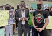 Reclaman Justicia por la muerte del oficial de la Policía Nacional Anderson Rosario Pérez; Vídeo