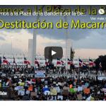 Corrupción al Desnudo convoca 15 de agosto a Plaza de la Bandera por destitución de Macarrulla; Vídeo