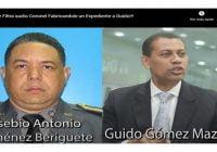 Corrupción al Desnudo revela audio donde coronel Jiménez Beriguete arma expediente a Guido Gómez; Vídeo