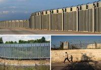 Grecia construyó muro de emergencia en Alejandrópolis frontera con Turquía para contener los afganos