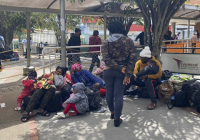 Crisis migratoria en Nariño por llegada masiva haitianos; Alrededor de 600 en terminal de Pasto