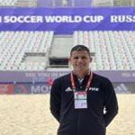 Árbitro dominicano Juan Ángeles está en su cuarta FIFA Copa Mundial de Fútbol de Playa
