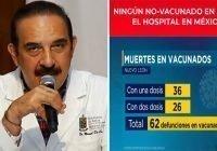 Covid-19 o coronavirus: Secretario Salud Nuevo León De la O Cavazos informa muerte vacunados; Vídeo