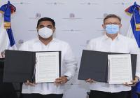 Mirex y Fedomu firman adenda a acuerdo para fortalecer programa de hermanamiento entre ciudades